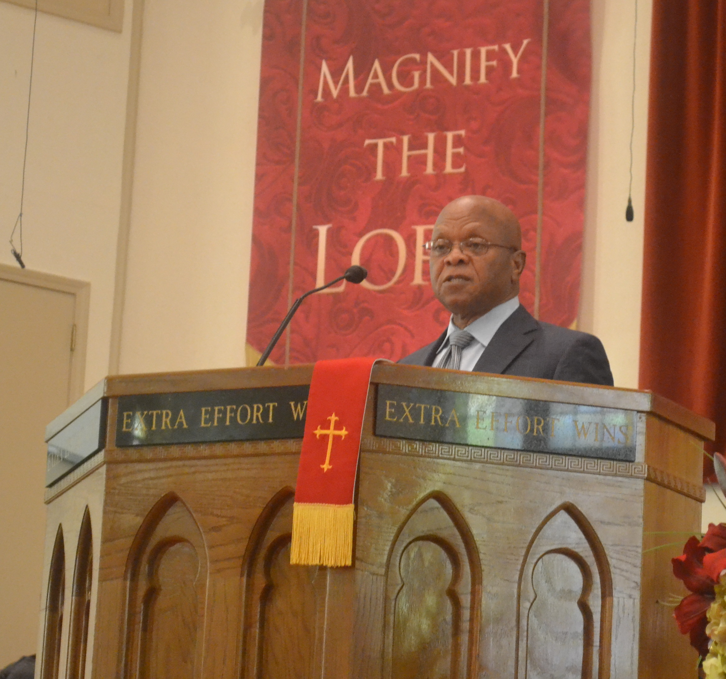 African-American History Month speaker stresses knowledge of self